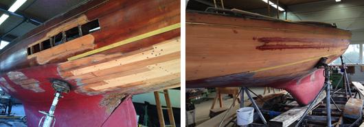 Holz-Reperaturen